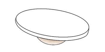 Balance Board mit Halbkugel [Thearapiekreisel]