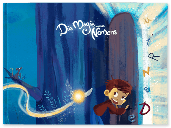 Personalisierte Kinderbücher inkl. Die Magie meines Namens