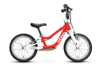 Woom Fahrrad Woombike 1 plus rot